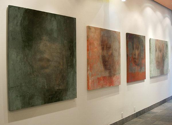 Tadeusz Biernot Original Paintings