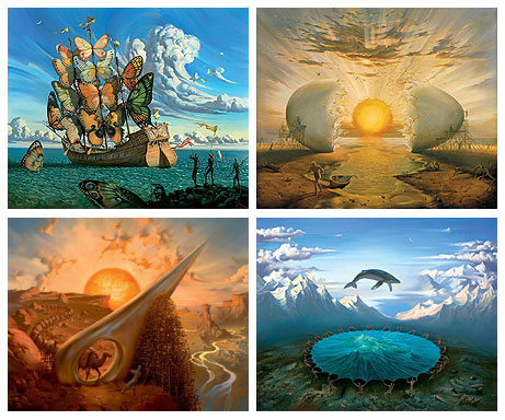 Vladimir Kush prints paintings gallery