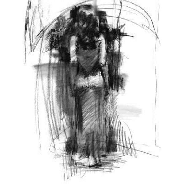 Henry Asencio - Seduction (Charcoal Drawings)