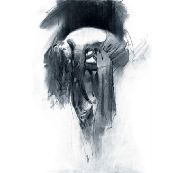 Henry Asencio - Solace (Charcoal Drawing)