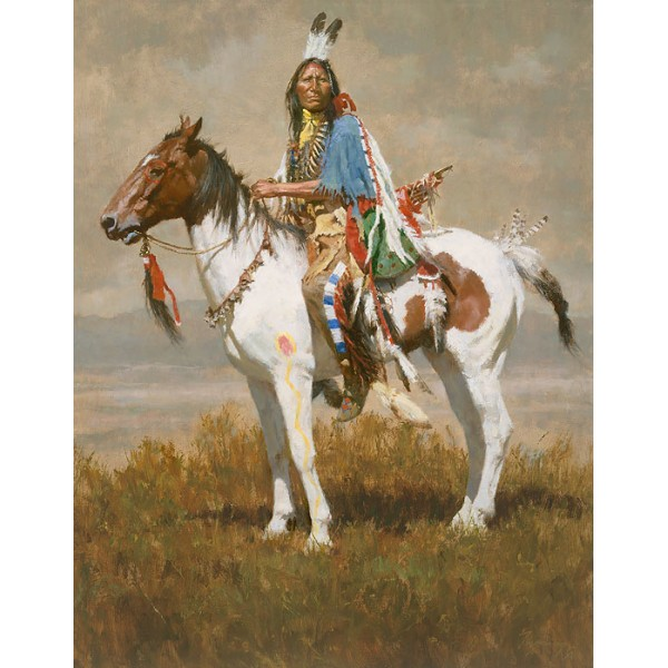 Howard Terpning - Spirit of the Plains