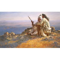 Howard Terpning - Telling of the Legends