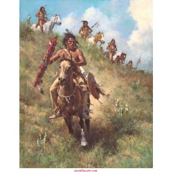 Howard Terpning - The Honor of Being Pipe Carrier