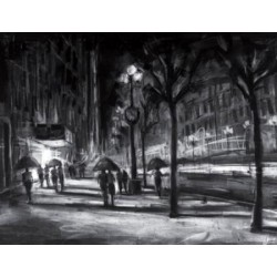 Michael Flohr - Captured Moments - Charcoal Drawings on Giclee Paper