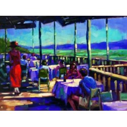 Michael Flohr - L`Auberge - View Of The Vineyard