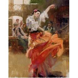 Pino - Flamenco In Red