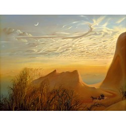 Vladimir Kush - Anticipation of a Nights Shelter