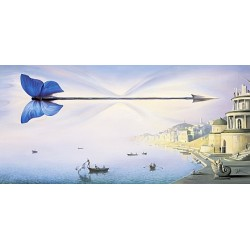 Vladimir Kush - Arrow of Time