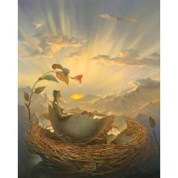 Vladimir Kush - Birth of Love