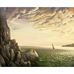Vladimir Kush - Bound for Distant Shores