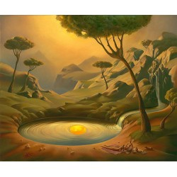 Vladimir Kush - Breakfast on the Lake