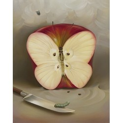 Vladimir Kush - Butterfly Apple
