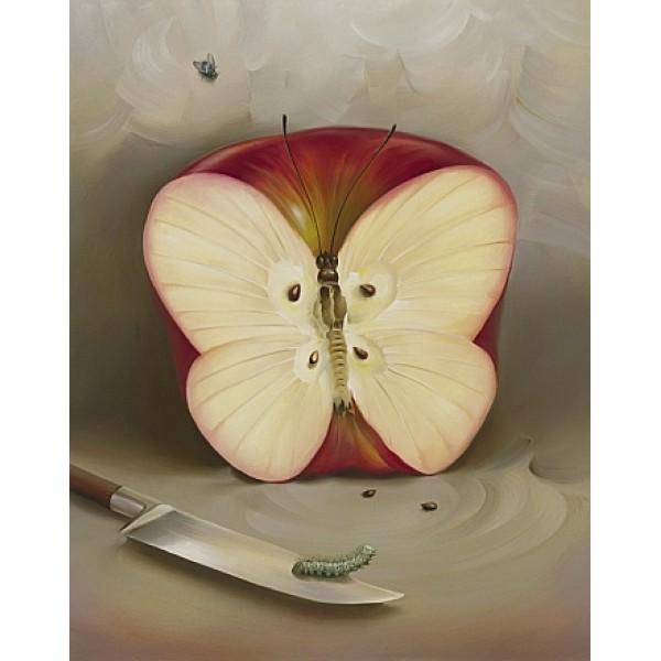 Vladimir Kush Butterfly Apple