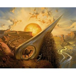 Vladimir Kush - Eye of the Needle