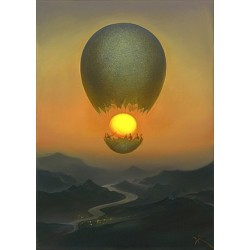 Vladimir Kush - Flight of the Sun