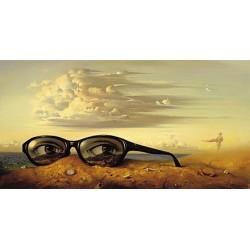 Vladimir Kush - Forgotten Sunglasses