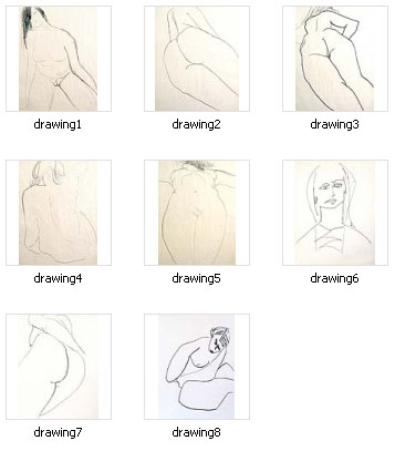 Eva figurative nude drawings The company only provides quality products by using the traditional ...